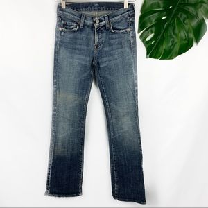 7 For All Mankind Distressed Jeans Women's Size 25